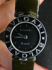 Bvlgari B Zero 1 Watch With Shimmer Green Strap With Stainless Steel