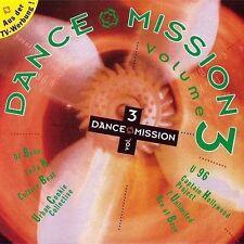 Dance Mission 3 (1993) Culture Beat, Captain Hollywood, Robin S, Maxx, 2 .. [CD]