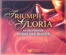 4er CD-Box -Triumph Gloria - Reader´s Digest - 2007 -Neu/OVP/Sealed-072163