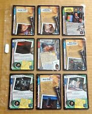 THE X-FILES PREMIERE EDITION CCG/TCG SLEEVE OF 9 x UNCOMMON CARDS  NEW/1996  (G)