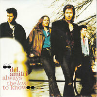 """Del Amitri 7"""" Always The Last To Know - Europe"""