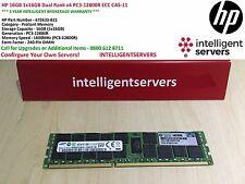 HP 16GB 1x16GB Dual Rank x4 PC3-12800R ECC CAS-11 * 672633-B21 *