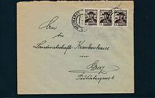 Postablage Perchau, Post Neumarkt in Steiermark auf Trachten-Brief   27/2/15