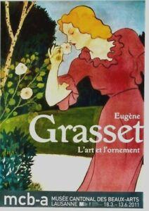 Original vintage poster EUGENE GRASSET EXPO ART & ORNAMENT