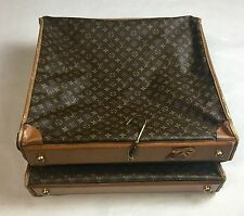 Vintage French Luggage Company  Louis Vuitton Large Garment TRAVEL BAG FOLD OVER