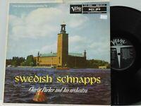 Charlie Parker LP Swedish Schnapps on Verve