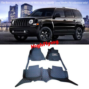 For JEEP Patriot 2010-2015 Car Floor Mat Right Hand Drive Accessory Carpet Pad