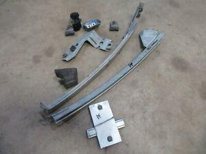 1972 Dodge Mopar Charger inner door window track guide parts pieces PASSENGER