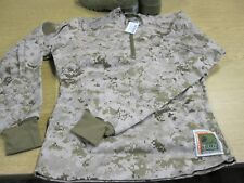 NWT USMC DESERT FROG MARPAT IWCS INCLEMENT WEATHER COMBAT SHIRT SM. REG.