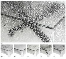 Tovaglia trasparente pvc antimacchia su misura copri proteggi tavolo in plastica