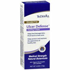 TriDerma MD Diabetic Ulcer Defense Healing Cream - 4.2 OZ (2 Packs)