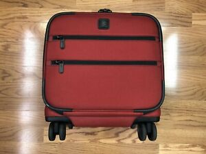 Victorinox Lexicon Spinner Underseat Carry-on Luggage Red