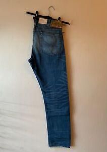 Polo Ralph Lauren Denim & Supply Blue Denim Distressed Jean Size 36 x 34 J7