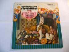 """THE STRAWBERRY ALARM CLOCK""""INCENSE&PEPPER-disco 45 giri DURI It 1966""""ONLY SLEEVE"""