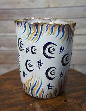 Vintage Zulimo ARETINI Novara Italy Geometric Abstract Vase Mid Century Modern