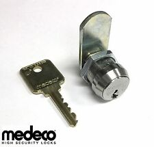 MEDECO HIGH SECURITY UNIVERSAL CAM LOCK WITH 5/8 IN. BODY LENGTH AND ONE KEY