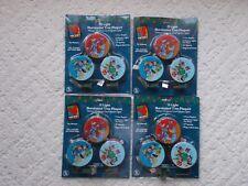 Mickey Disney 15 Light Illuminated Tree Plaques Christmas Vignette Lights 4 sets