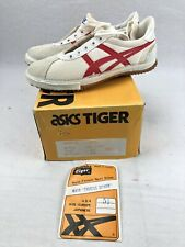 Vintage Asics Tiger Volleyball Shoes Lady Spiker Tigress Size 5.5 White Red Nos