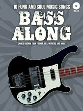 Bass Along Sheet Music 10 Funk and Soul Music Songs Bass Book and CD N 014043061