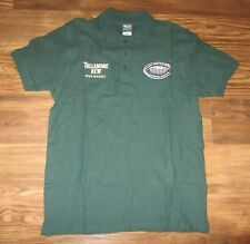 RUGBY WORLD CUP 2015 Short-Sleeve Polo Shirt, Tullamore Dew Whiskey, Size M, EUC