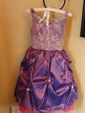 Nwt Play Wonder Princess Flower Gown Small 5-6 Purple Dress Up Costume Halloween
