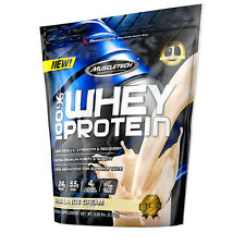 10LB MuscleTech 100% Whey Protein - Vanilla Ice Cream  $69 SHIPPED