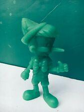 "1972 Marx Disney 5"" Green PINOCCHIO Figure"