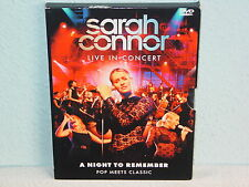 "****DVD-SARAH CONNOR""LIVE IN CONCERT-A NIGHT TO REMEMBER-POP MEETS CLASSIC""****"