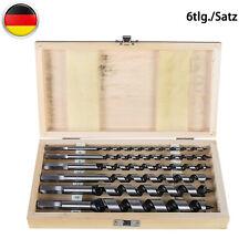 Profi Schneckenbohrer 8-24mm 4tlg Set Lange Schlangenbohrer Sechskant Holzbohrer