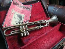 More details for super rolls diplomat art deco 1930s trumpet w/selmer case & vintage sheet music