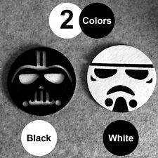 1x Star Wars Cup Drinks Holder coffee felt Mat Tableware Placemat Black/White YX