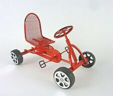 Dollhouse Miniature Red Toy Pedal Car, EIWF587