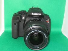 Canon EOS T5i  700D  Digital Camera body + Mint canon 18-55 Mark III Lens +32GB