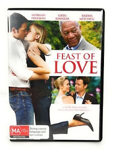 Feast of Love (DVD 2007) Morgan Freeman Region 4 Free Postage