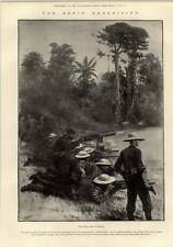 1897 Benin Expedition primo combattimento a ologbo warrigi Base