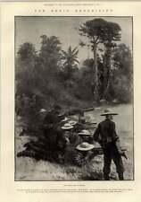 1897 Benin Expedition primo combattimento a ologbo warrigi Base