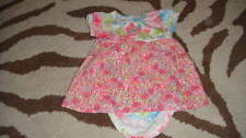 BOUTIQUE BABY LULU 6M 6 MONTHS GORGEOUS OUTFIT DRESS FLORAL TWINS