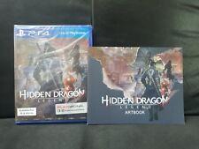 (ASIA ENGLISH VERSION) PS4 Hidden Dragon Legend + Artbook (Brand New)