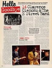 Hello, Goodbye Clarence Clemons & Springsteen Cutting
