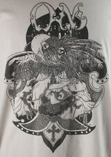 Sweet, Stony OM Band T-Shirt (Sleep) Light Gray, Size L - Bird Dancer with Cross