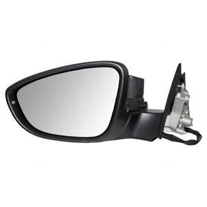 Door Mirror fits 2012 Volkswagen Passat Driver Side Power Heated Signal Gray