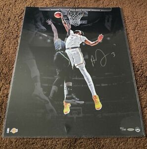 Upper Deck UDA Anthony Davis Rejection Signed Autographed Photo 20x24 COA Lakers