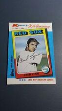 FRED LYNN 1982 TOPPS K-MART MVP SERIES BASEBALL CARD # 27 B2987