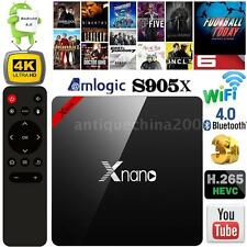 X96 Pro 4K Android 6.0 S905X Quad Core TV Box Media Player Streamer HD WIFI V1E6