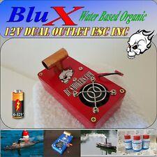RC Smoke Generator 12 Volt Variable Volume ESC Duel Outlet BluX Water Based