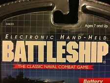 Hasbro Battleship 1999 Electronic Hand Held The Classic Naval Combat Game New