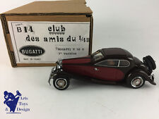CLUB AMIS DU 1/43 B14 BUGATTI T 50 T 3° VERSION MARRON BORDEAUX NO MCM