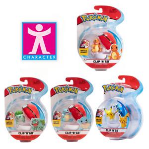 Character - Pokémon Clip N Go Action Figures - Choose From 4 Pokémon