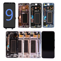 For Samsung Galaxy S9 S8 Plus S7 Edge LCD Display Touchscreen Digitizer + Frame