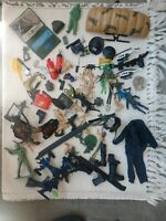 Gi Joe huge Lot Of Accessories/Clothing / Army Men/ Boots / Navy Seals/ weapons
